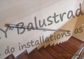 Stainless Steel Broom Stick Rails
