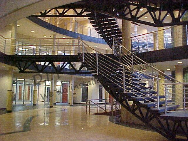 Stainless Steel Staircase Balustrades