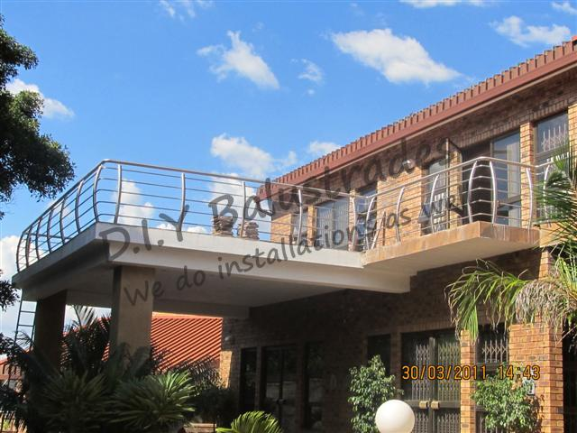 Curved Balcony Balustrades